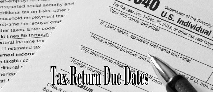 expat tax returns due dates