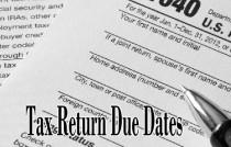 expat tax returns due dates
