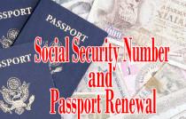SSN and Passport Renewal