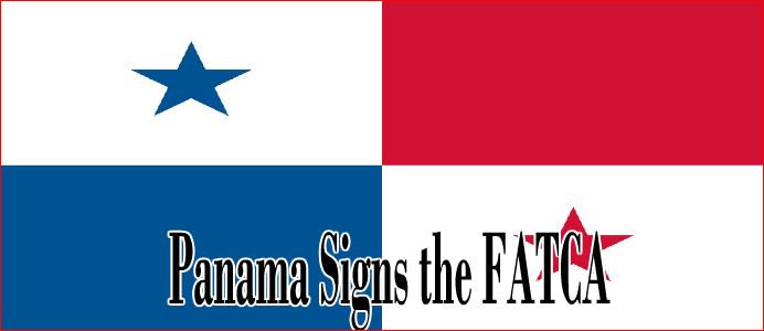 panama signs fatca
