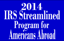 2014 streamlined program for expats