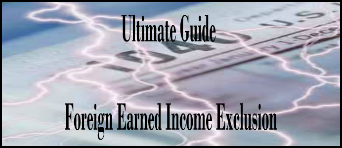 foreign earned income exclusion expat tax